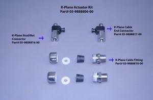 K-Plane Trim Tab Actuator Kit