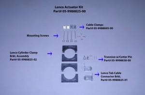 Lenco Cable Connector Bracket